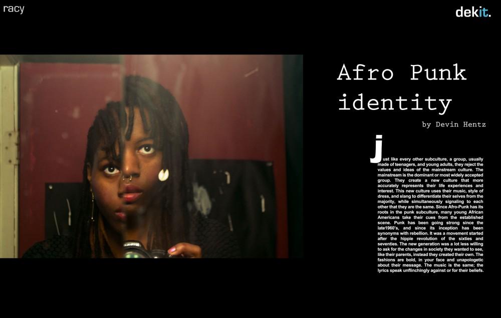 Dekit Magazine Afro Punk Idenity and Fashion