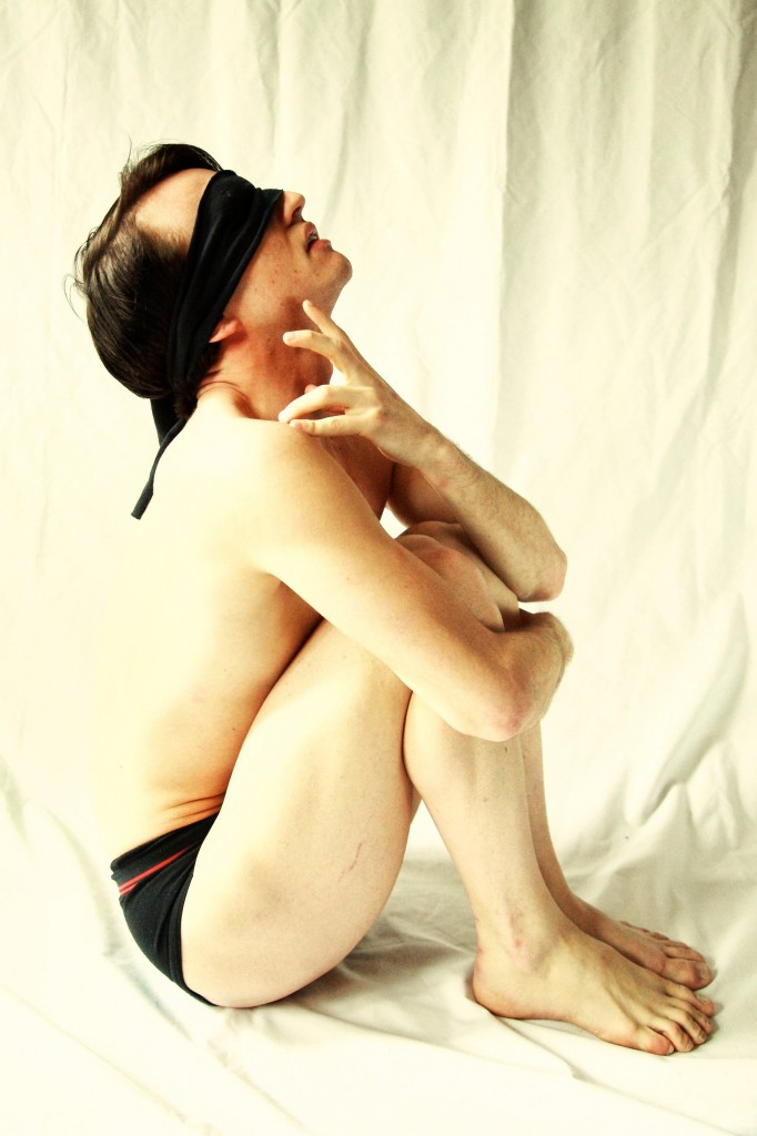 Dekit Magazine Vito Acconci inspired photo by Emma Mead, Model Shay Bares