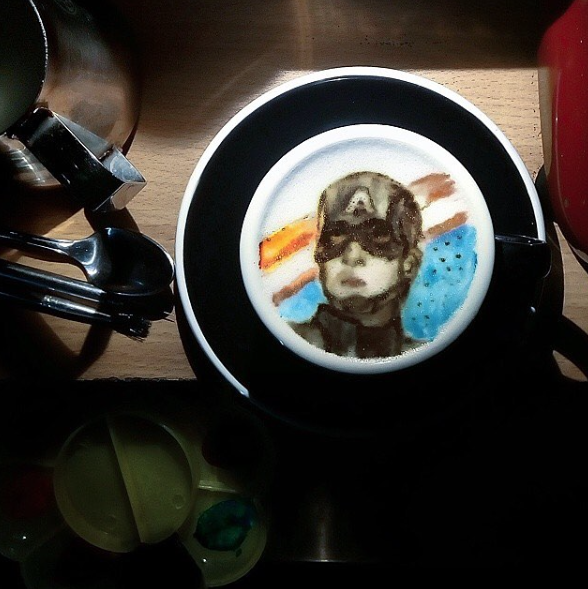 Latte Art Come