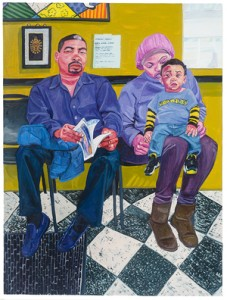 Barbershop,+72+x+54+in,+Oil+on+Canvas,+2015(1)
