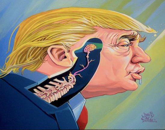 Dave MacDowell 4 Donald Trump